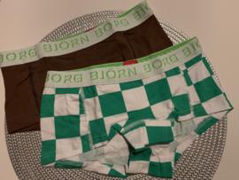 Set 2 paar women's shorts Björn borg