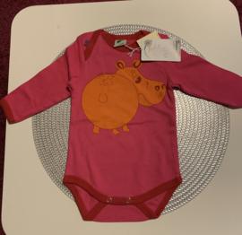 roze romper Smafolk Hippo
