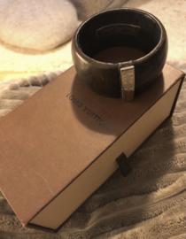 Vintage lederen armband Louis Vuitton