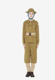 Smiffys Kinder kostuum Horrible histories WWI boy green