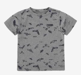 Zack Jongens Zero T-shirt - grijs