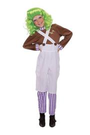 Chocolate factory worker carnaval kostuum