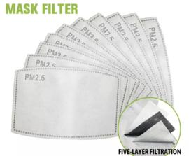 Pakje filters 10 stuks