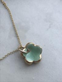 Grace Gold filled ketting 45 cm Mint