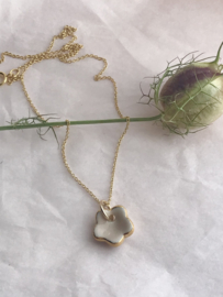 Grace Gold filled ketting 45 cm Nude