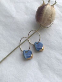 Oorbel Caro - blauw