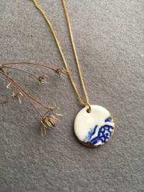 Gold filled ketting  50 cm 'Forget Me Not?' Large