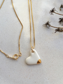 Gold filled ketting  50 cm Darling