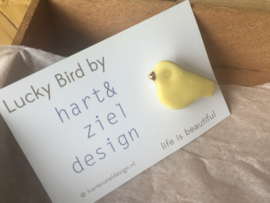 Lucky Bird - geel