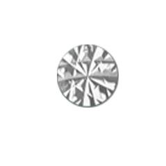 Sparkle 18krt Witgoud Cirkel