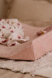 Aankleedkussenhoes Roze Rib