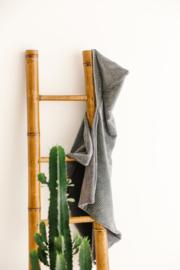Wikkeldoek Grijs Rib / Grijs Bamboo