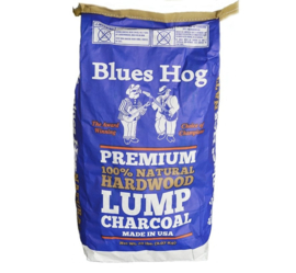 Blues Hog Lump Charcoal Hickory/Eik 8 kg