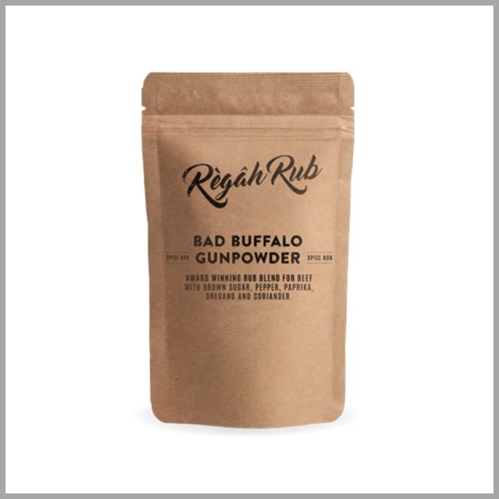 Regah Rub Bad Buffalo Gunpowder 300 gr