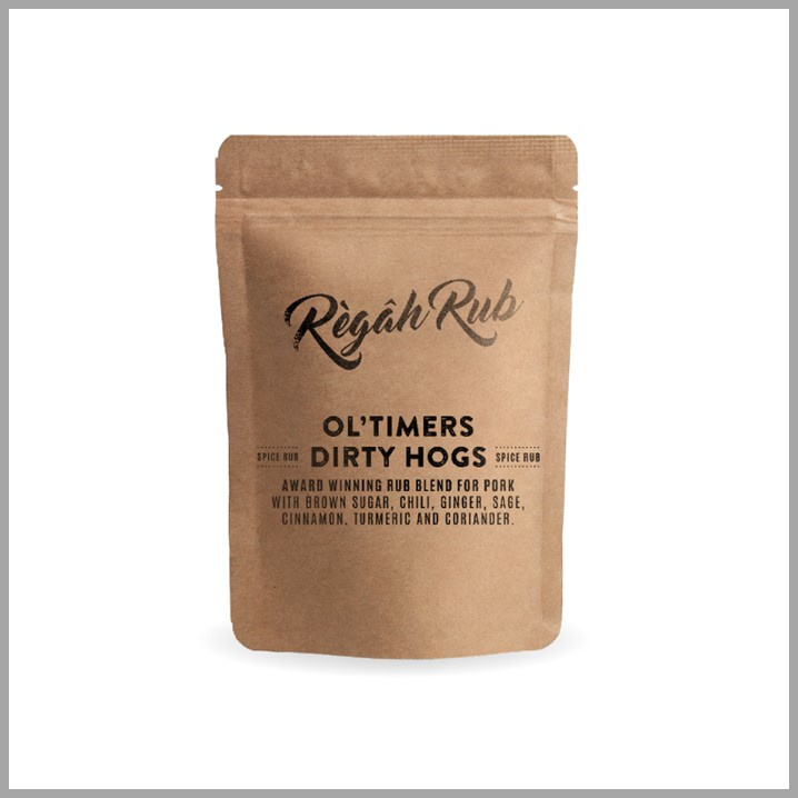 Regah Rub Ol'Timers Dirty Hogs 300 gr