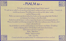 kaart met toelichting psalm 30