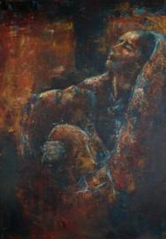 Pasen - (tweeluik) - reproductie op canvas