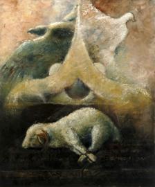 Psalm 22 - ' Het Nieuwe Verbond' - origineel 120-100 cm