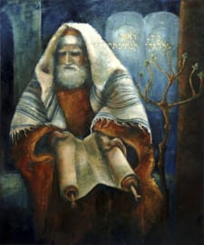 Psalm 119 - 'Uw Woord' - canvas reproductie