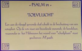 Kaart met toelichting psalm 91