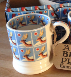 espresso mug candle Christmas stamp reindeer