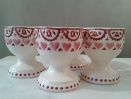egg cup sampler pink