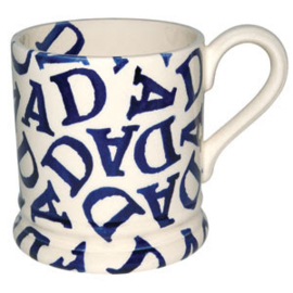 ½ pint mug dad blue