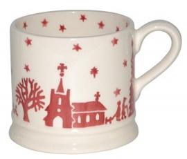 small mug Cristmas town