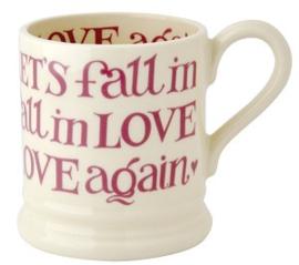 ½ pint mug Valentines pink