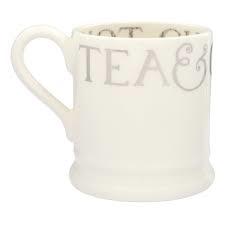 ½ pint mug silver toast