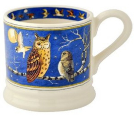 small mug large owls