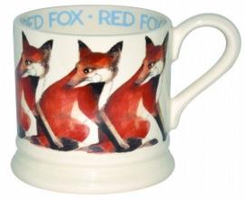 small mug red fox