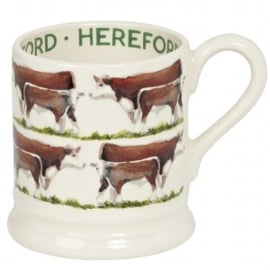 ½ pint mug Hereford