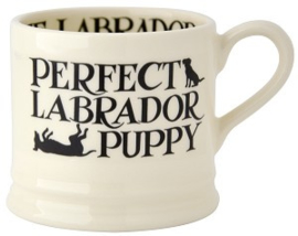 small mug black toast - labrador