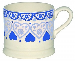 small mug sampler blue