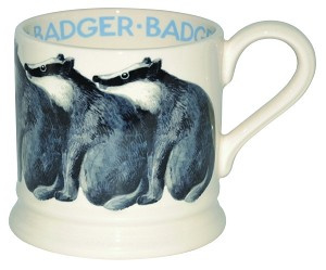 small mug badger