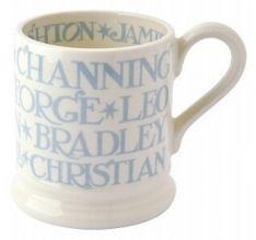 ½ pint mug pale blue toast