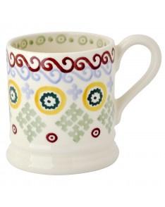 ½ pint mug folk border