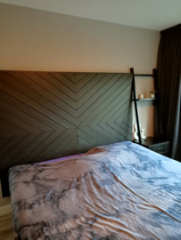 Headboard painted by my customer!