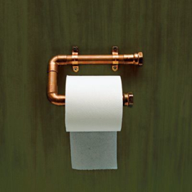 Toiletrolhouder COPPER