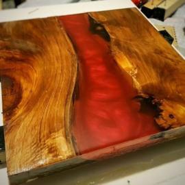 Rood metallic