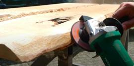 Stap 6: De schors van het blad verwijderen