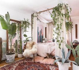 3x Bohemian slaapkamer inspiratie