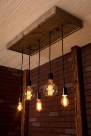 Steigerhouten hanglamp
