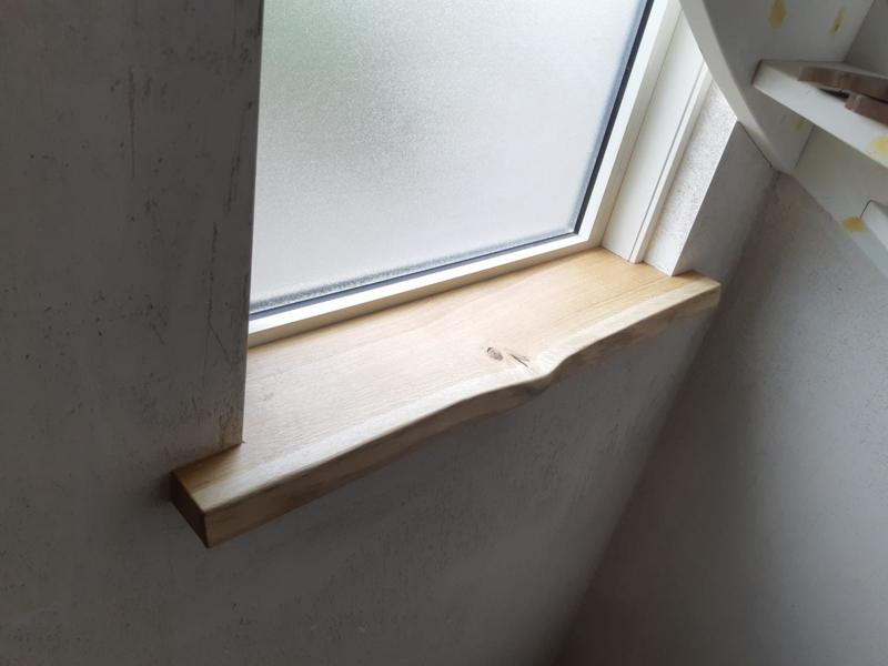 Oak window sill