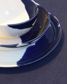ALS GEGOTEN deep plate, cobalt blue