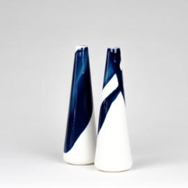 ALS GEGOTEN mini vase, cobalt