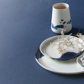 ALS GEGOTEN plates, cobalt blue