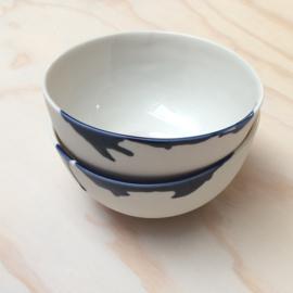 ALS GEGOTEN bowl, cobalt blue