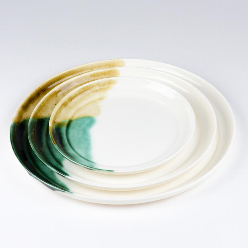 ALS GEGOTEN plates, bronze+iron
